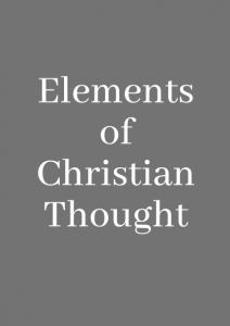 Elements of Christian Thought